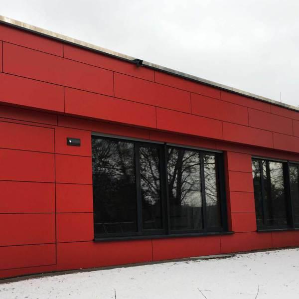 Faserzement, Popiolek Fassaden GmbH, Bad Homburg